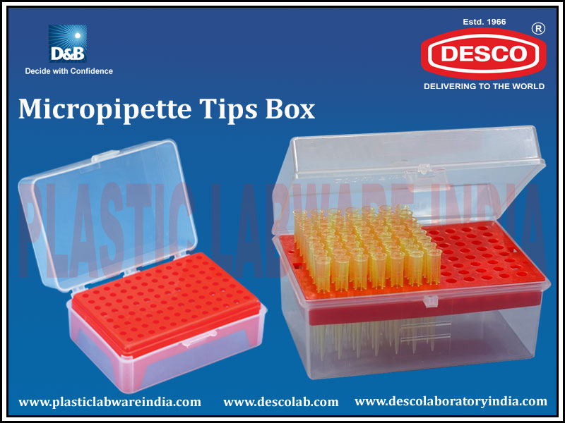 Micropipettes Tips Box & Racks