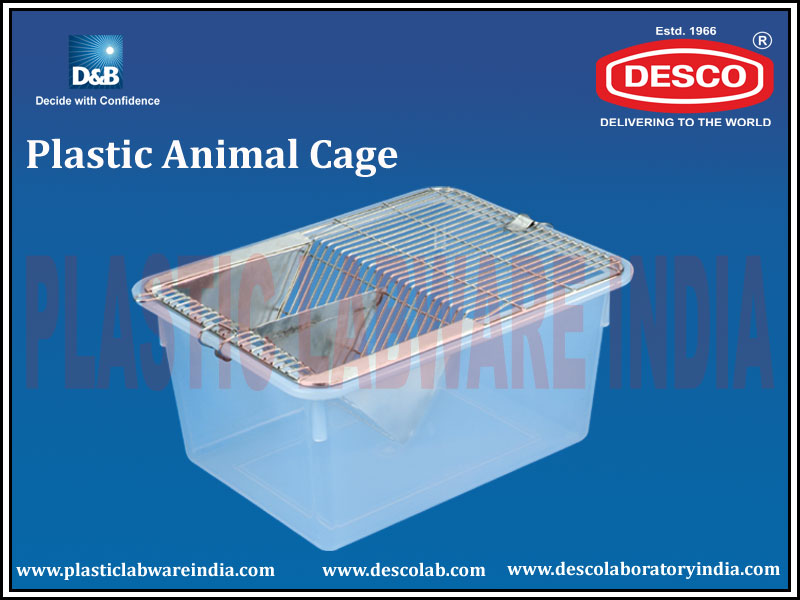 PLASTIC ANIMAL CAGES