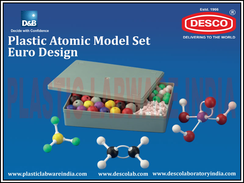 ATOMIC MODEL SET  EURO DESIGN
