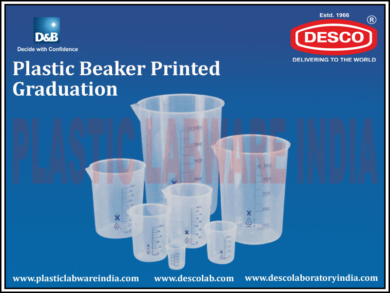 BEAKER PRINTED GRADUATION