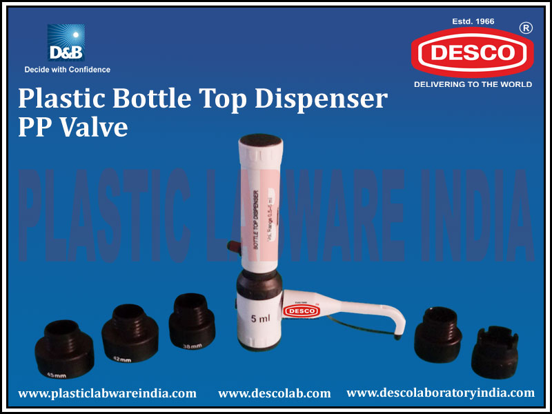BOTTLE TOP DISPENSER PP VALVE