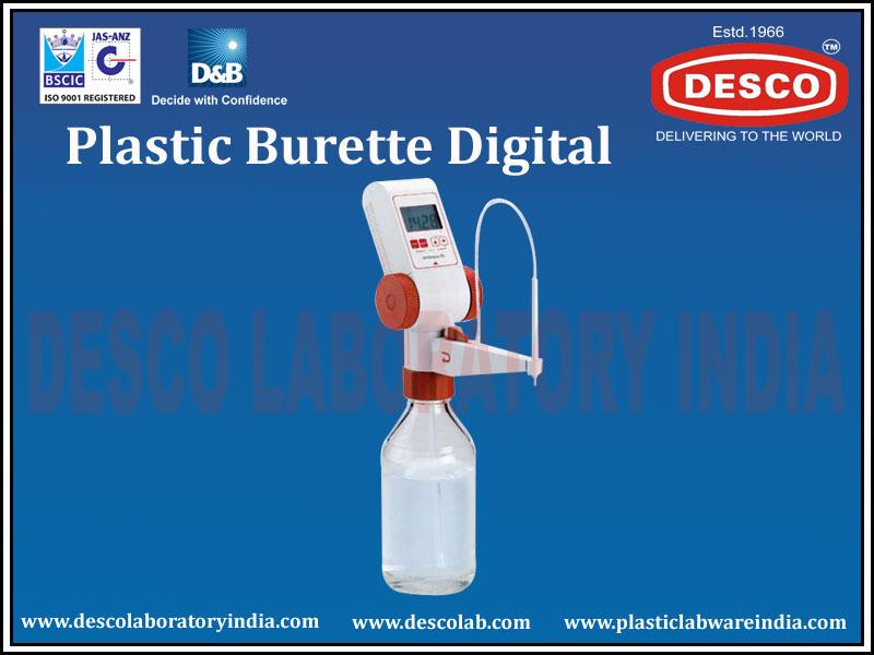 Plastic Burette Digital Manufacturers Exporters And