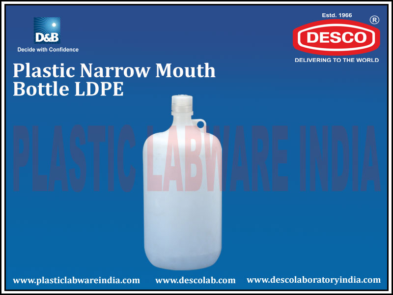 NARROW MOUTH BOTTLE LDPE