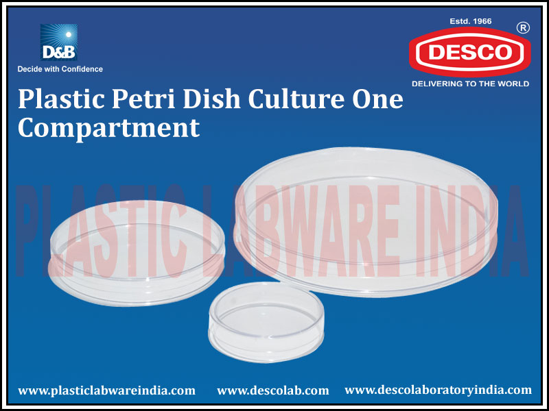 PETRI DISH 1 COMPARTMENT