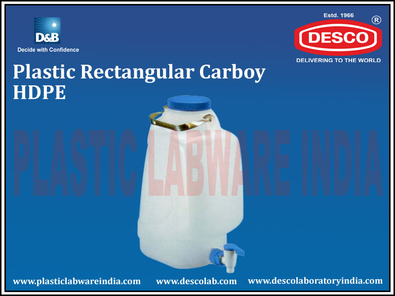 RECTANGULAR CARBOY HDPE