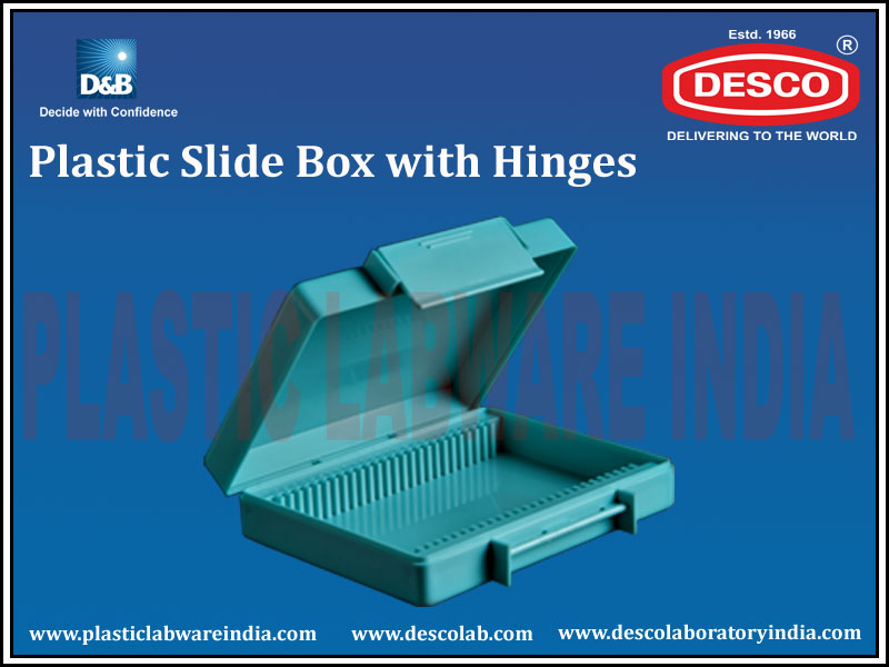 Plastic Slide Box with Hinges
