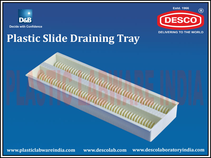 PLASTIC SLIDE DRAINING TRAY