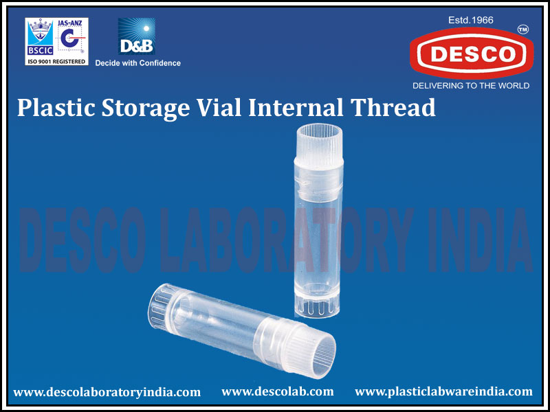 STORAGE VIAL INTERNAL THREAD