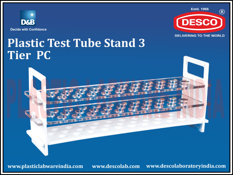 TEST TUBE STAND 3 TIER PC