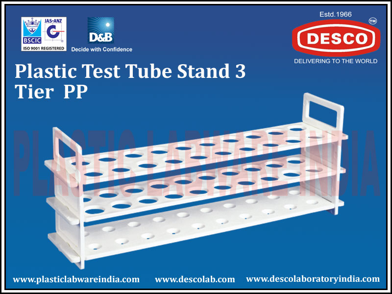 TEST TUBE STAND 3 TIER PP