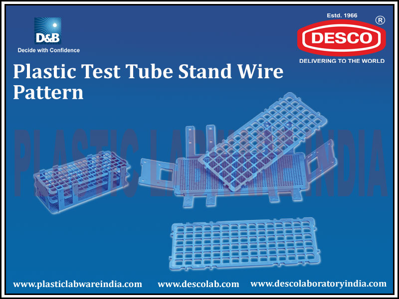 TEST TUBE STAND WIRE PATTERN