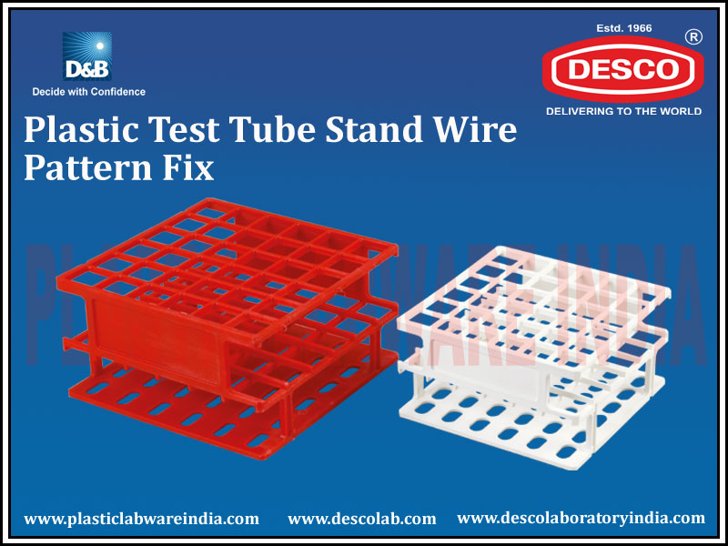 TEST TUBE STAND  WIRE PATTERN FIX