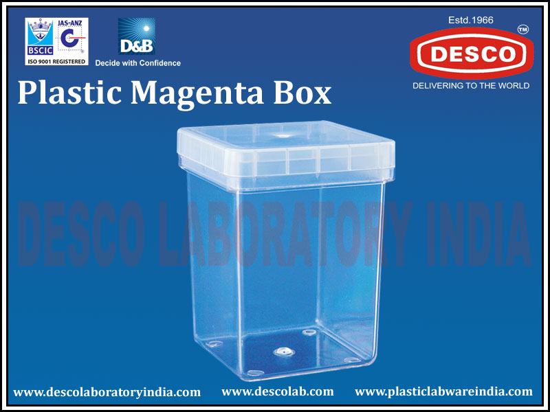 Plastic Magenta Box Manufacturers Exporters And