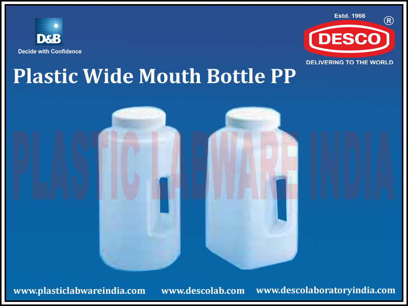WIDE MOUTH BOTTLE PP